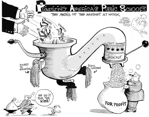 cartoon privatization tap