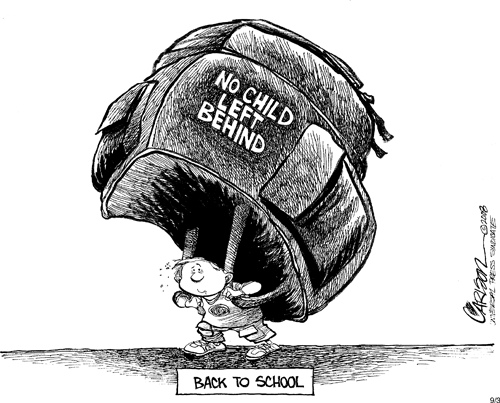 no child left behind analysis Numerous vocal critics oppose no child left behind criticism of nclba typically  falls into three different categories first, as with esea, critics charge that.
